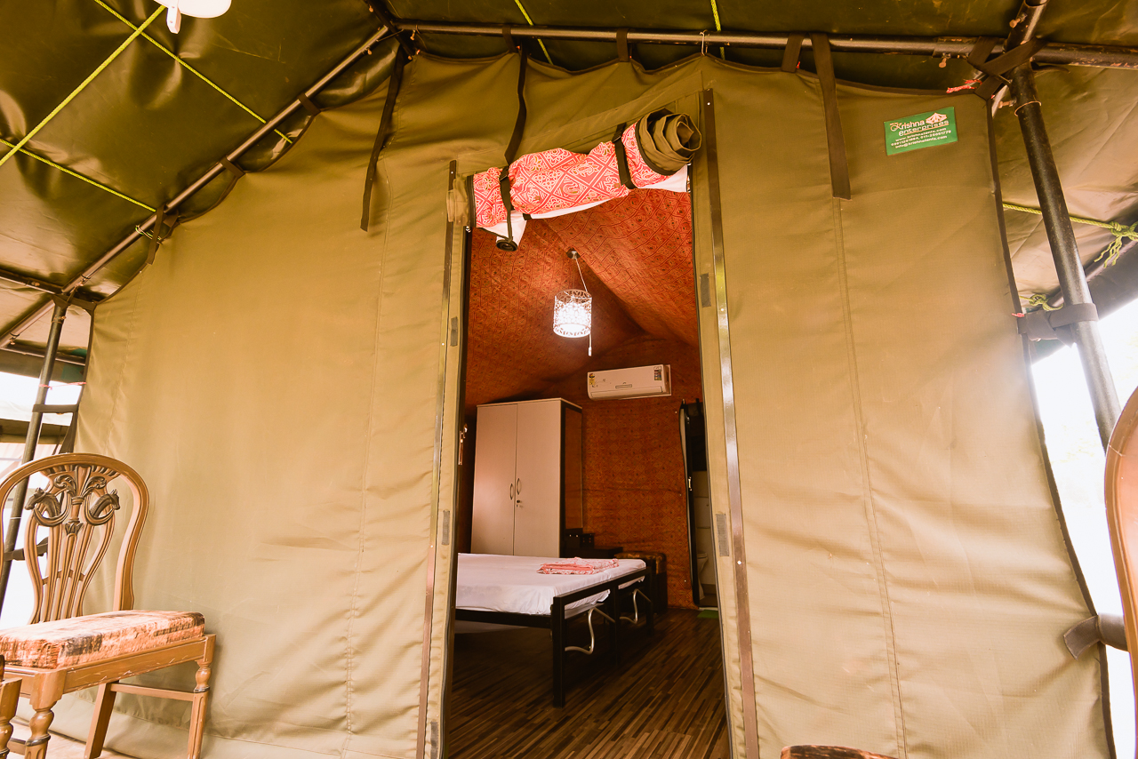 Tent stay in dapoli